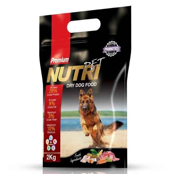 غذای خشک کروکت غذای سگ نوتری پت