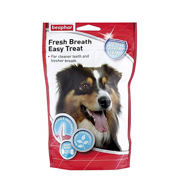خوشبو کننده دهان و تمیز کننده دندان سگ بیفار - Beaphar Fresh Breath