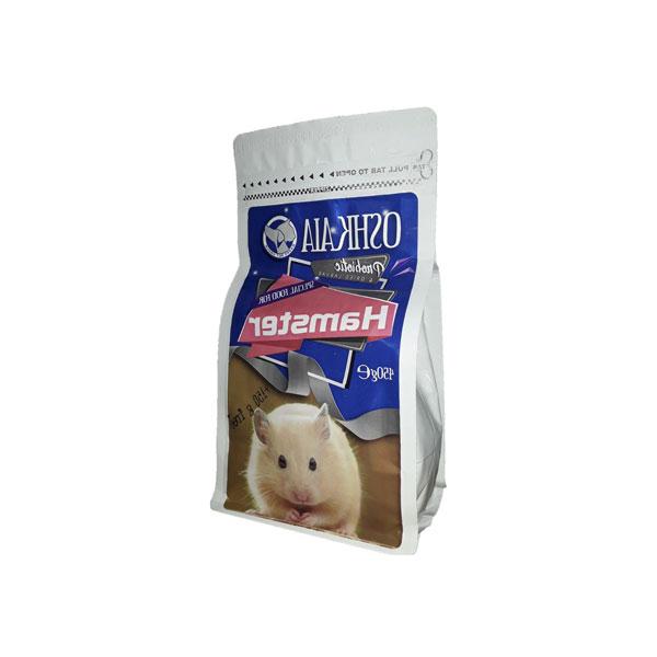 غذای پروبیوتیک و حشرات خشک شده همستر اوشکایا