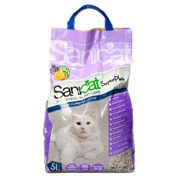 خاک گربه با رایحه پرتقال سانی کت - Sani cat Super plus