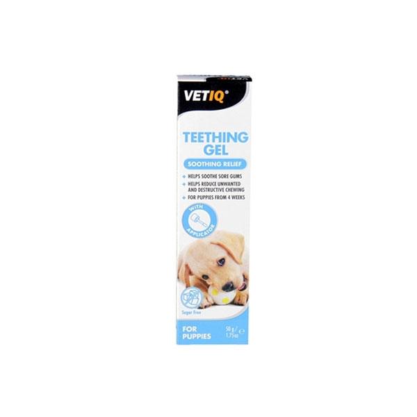 ژل از بین برنده درد و خارش دندان توله سگ وت آی کیو - VETIQ Teething Gel