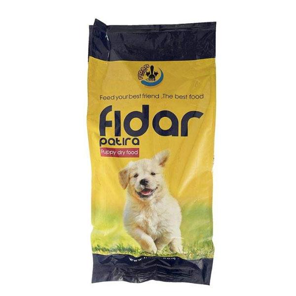غذای خشک آماده توله سگ نژاد بزرگ فیدار - Fidar Puppy Dry Food