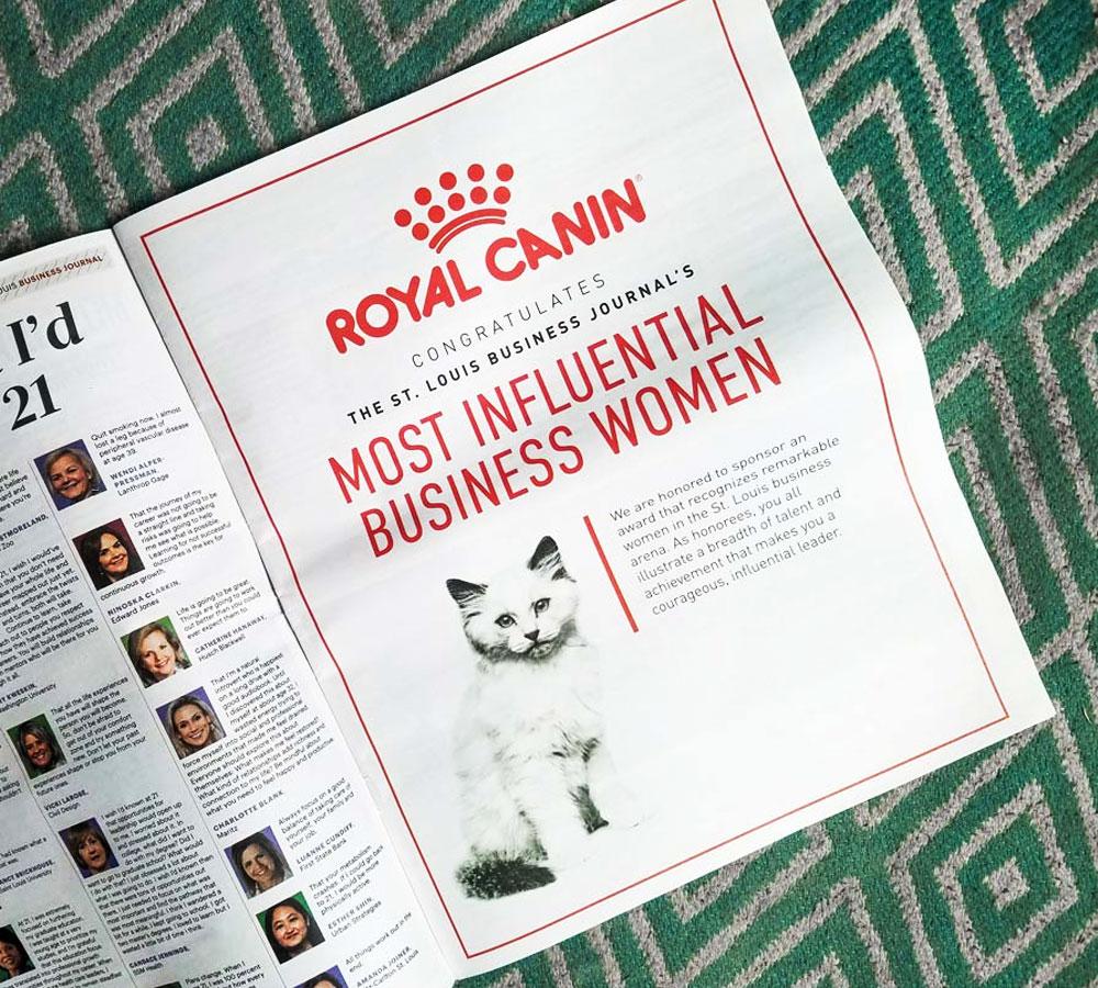 نمونه ای از مجله ی منتشر شده توسط شرکت رویال کنین