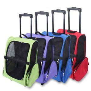 کیف حمل چرخ دار مخصوص حیوانات خانگی