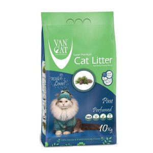 خاک گربه ون کت با رایحه کاج جنگلی - VanCat Pine