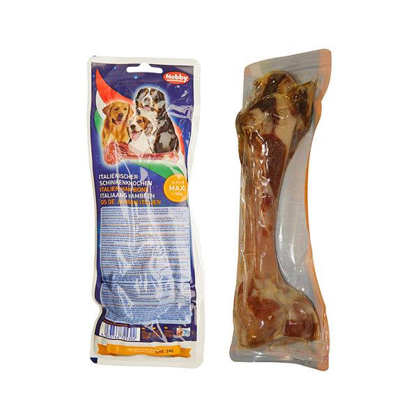 تشویقی استخوان قلم طبیعی خوک نوبی - Nobby Italian Ham Bone