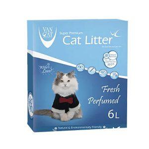 خاک گربه ون کت با رایحه طبیعت - VanCat Fresh Perfurm