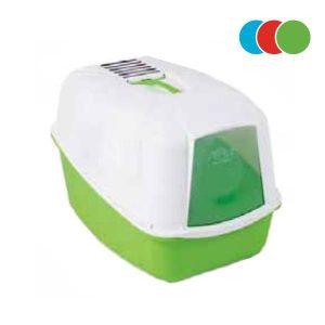 دستشویی مسقف گربه دارای فیلتر جذب بو و بیلچه کومودا - MPS2 Comoda