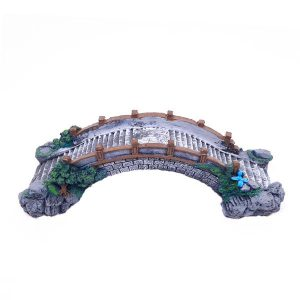 دکوری پلی استر آکواریوم مدل پل Aris-AP82