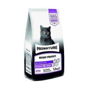 غذای گربه عقیم شده با طعم مرغ پرونیچر - Pronature Weight Protect